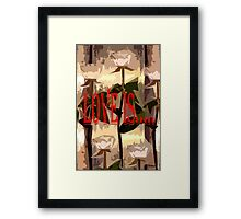 LOVE IS 3 Framed Print