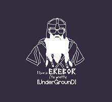Hipster Dwarf (Dark Background) Unisex T-Shirt