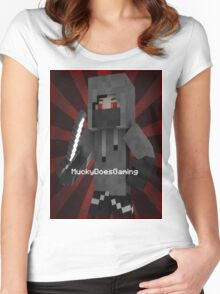 MuckyDoesGaming T-Shirt! Women's Fitted Scoop T-Shirt