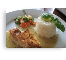 A cuisine delight  Canvas Print