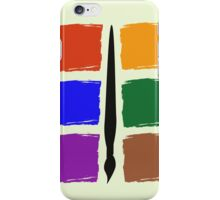 Six Colour Pallet Phone Case iPhone Case/Skin