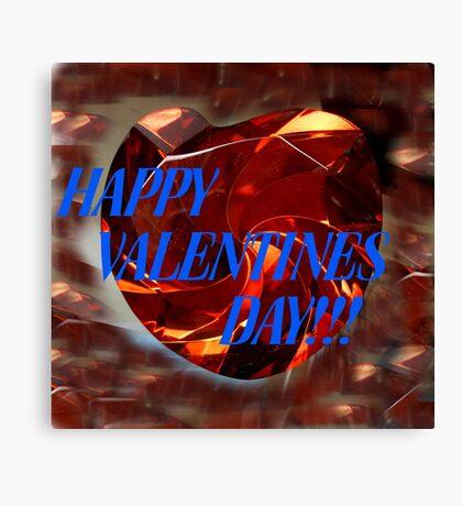 Valentines Heart Canvas Print