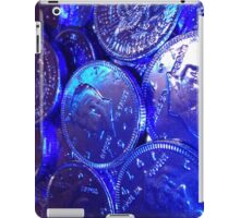 Blue Coin iPad Case/Skin
