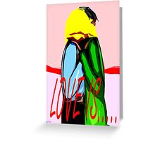 LOVE IS 5 Greeting Card