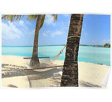 Hammock, Le Meridien, Bora Bora Poster