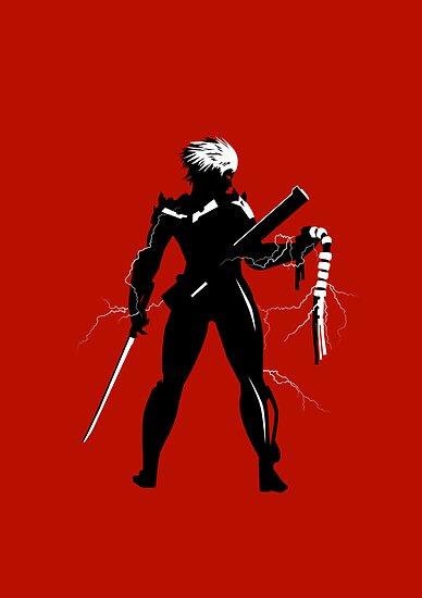 Raiden [Metal Gear Rising] by Nemesis96