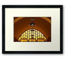 The Arch, Reims Market, Marne, France Framed Print
