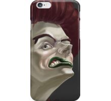 Staring Woman iPhone Case/Skin