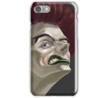 Staring Woman iPhone Case/Skin
