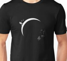 Skull kid on the moon Unisex T-Shirt