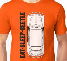 VW - Beetle - Eat Sleep Beetle Unisex T-Shirt