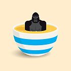 Gorilla In Custard by Mark Walker