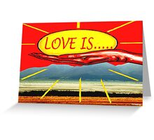 LOVE IS 9 Greeting Card