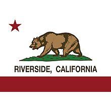 Riverside California Republic Flag Photographic Print