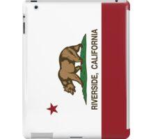 Riverside California Republic Flag iPad Case/Skin