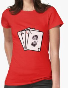 Kid Ink Alumni Cards Womens Fitted T-Shirt