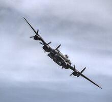 Lancaster Bomber EE139 by Nigel Bangert