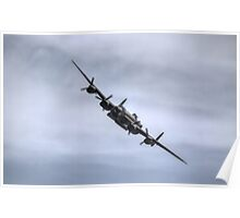 Lancaster Bomber EE139 Poster