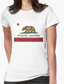 Stockton California Republic Flag T-Shirt