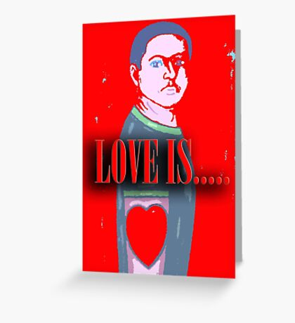 LOVE IS 12 Greeting Card
