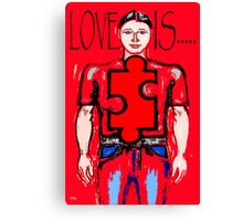 LOVE IS 13 Canvas Print