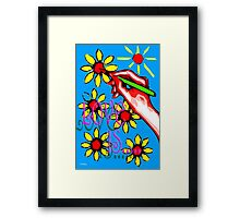 LOVE IS 15 Framed Print