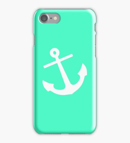Mint Anchor iPhone Case/Skin
