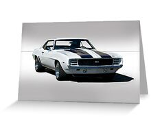 1968 Chevrolet Camaro SS Greeting Card