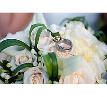 Wedding detail Photographic Print