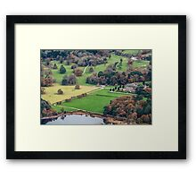 Muckross House View From Torc Summit Framed Print