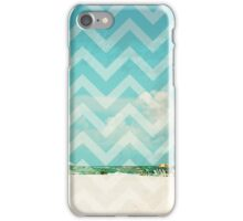 Chevron Beach Dreams iPhone Case/Skin