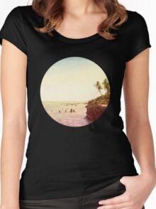 Salt Water Dreams Women's Fitted Scoop T-Shirt