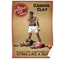 Cassius Clay - The Greatest Poster