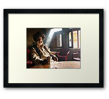 Nice to meet you Framed Print