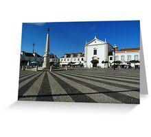 Plaza Vila Real Greeting Card