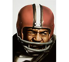 Jim Brown Photographic Print