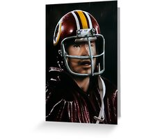 John Riggins Greeting Card