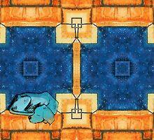 My Blue Doggy by Jorge H. Elias