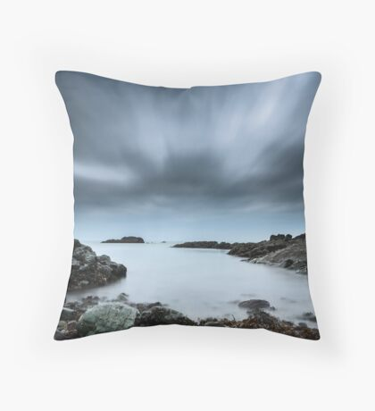 Watching Time in Portdinllaen Throw Pillow