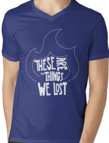 Things We Lost Mens V-Neck T-Shirt