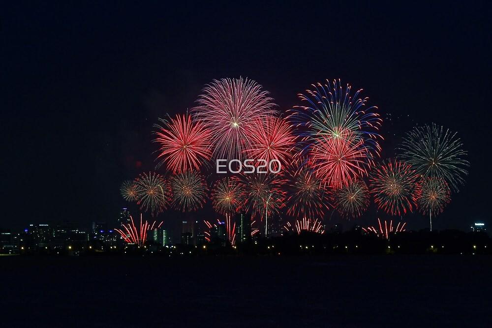 Perth Australia Day Skyworks 2014 by EOS20
