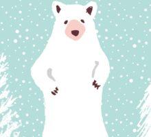 Bear-y Christmas Sticker