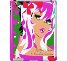 Candy Pink, An Exclusive design by Carolina Sherwani iPad Case/Skin