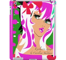 Candy Pink, An Exclusive design by Carolina Sherwani iPad Case/Skin