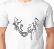 antlers and household chore Unisex T-Shirt