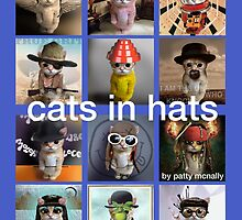 CATS IN HATS by patty mcnally by Patty McNally