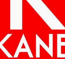 Retro CTA sign Kane Sticker