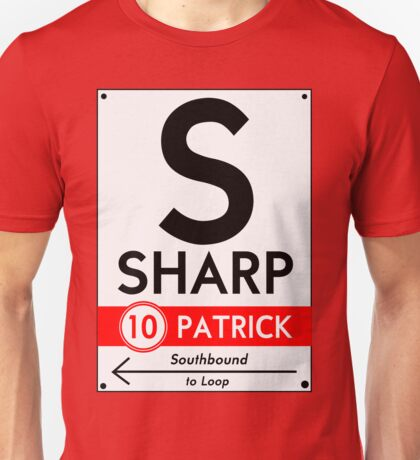 Retro CTA sign Sharp Unisex T-Shirt