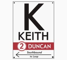 Retro CTA sign Keith by mightymiked