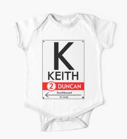 Retro CTA sign Keith Kids Clothes